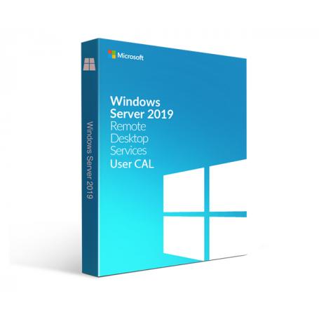 RDS CALs Remote Desktop Services per WINDOWS SERVER 2019 n.5 users (illimitati device)