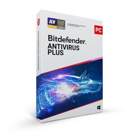 Bitdefender Antivirus Plus | 1 PC | Account di licenza | 3 Anni